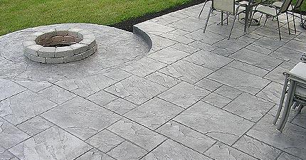 Wonderful Decorative Concrete Patios